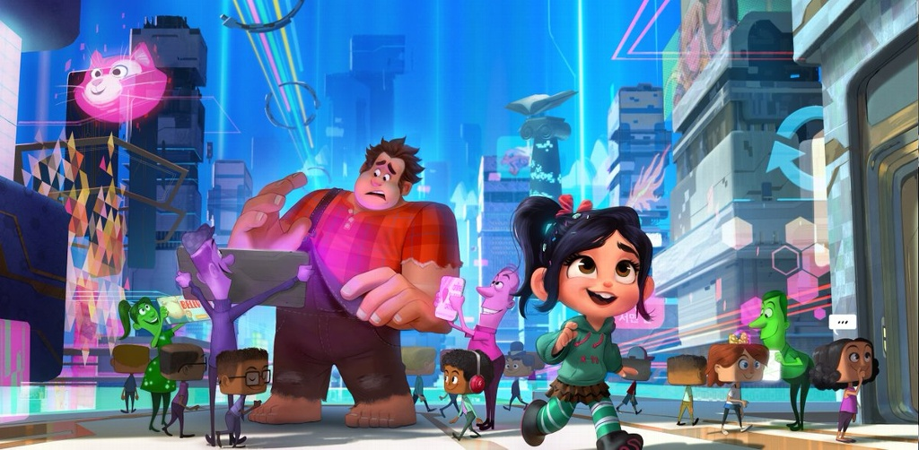 Lanzan nuevo avance de 'Ralph Breaks the Internet'
