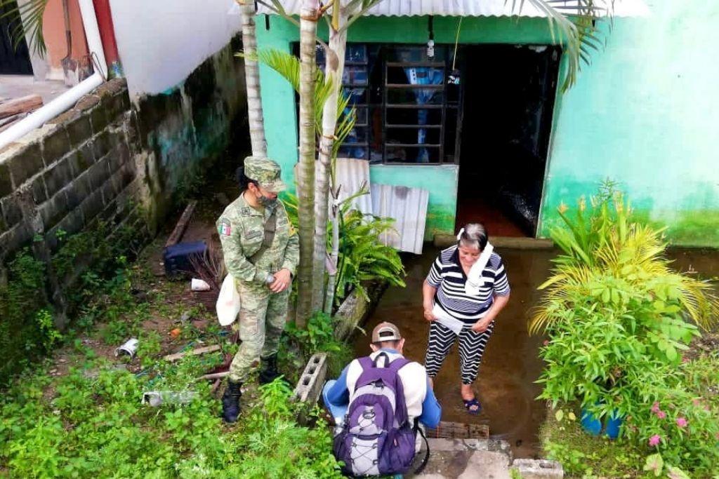 Bienestar censará 164 localidades afectadas por inundaciones este miércoles