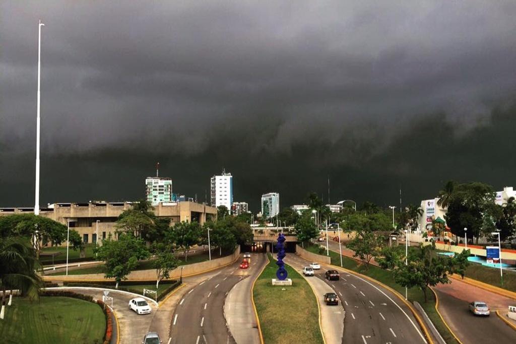 Lluvias intensas se prevén este jueves en Tabasco
